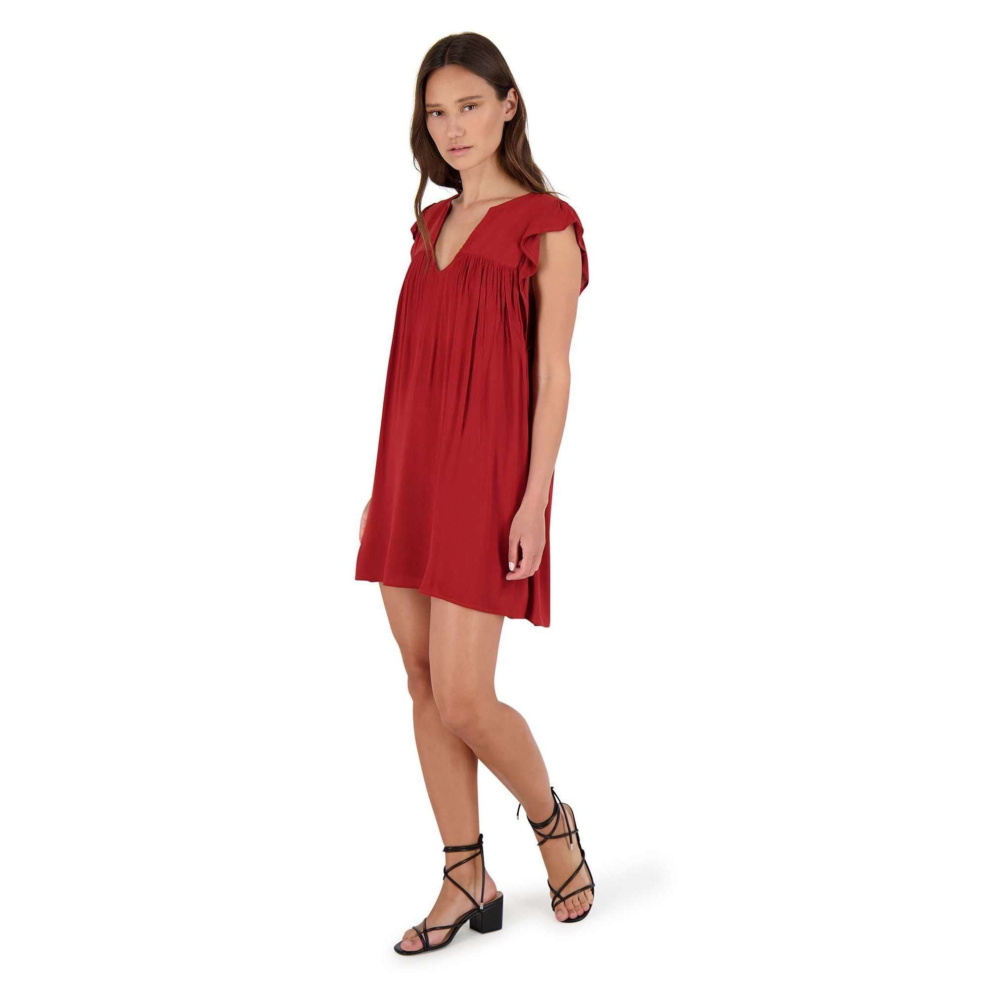 8.28 Boutique:BB Dakota,BB Dakota Dressed to Frill Mini Dress,Dress