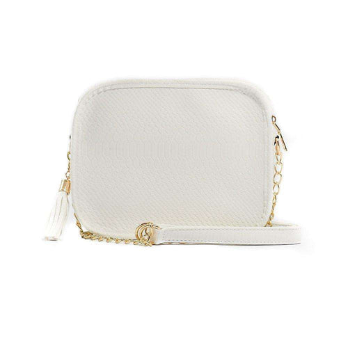 8.28 Boutique:Klutch Handbags,Klutch Handbags Sightseer White Snake Purse,Purse