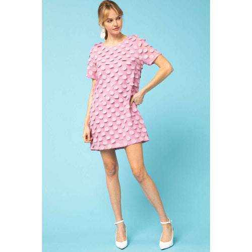 8.28 Boutique:8.28 Boutique,The Katherine Mauve Dot Dress,Dress