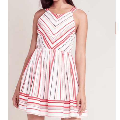 8.28 Boutique:BB Dakota,BB Dakota On The Line Ribbon Dress,Dress