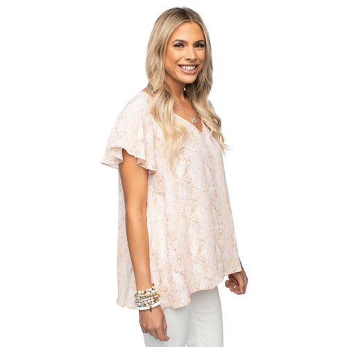 8.28 Boutique:Buddy Love,Buddy Love Avril Moroccan Top,