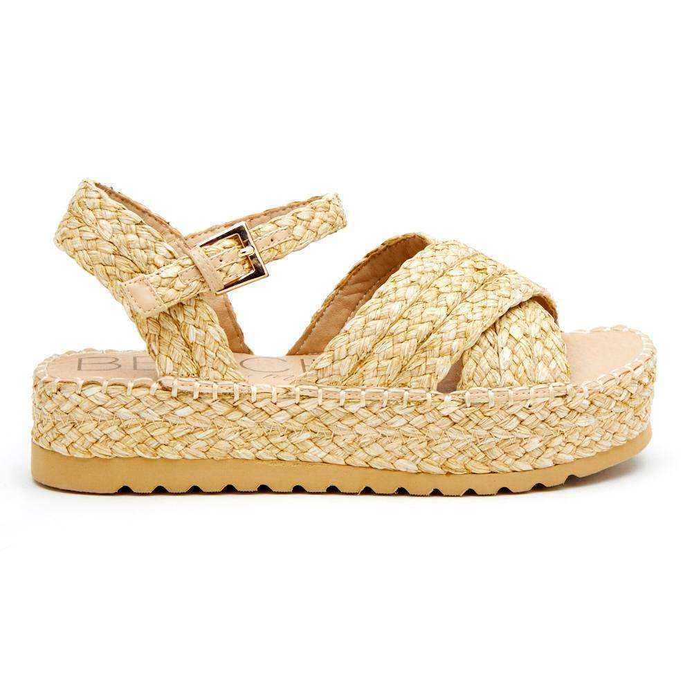 8.28 Boutique:Beach by Matisse,Beach by Matisse Sunshine Natural Raffia Wedges,Shoes