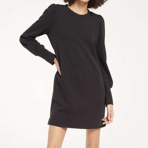 Buddy Love Ray Black Cat Dress