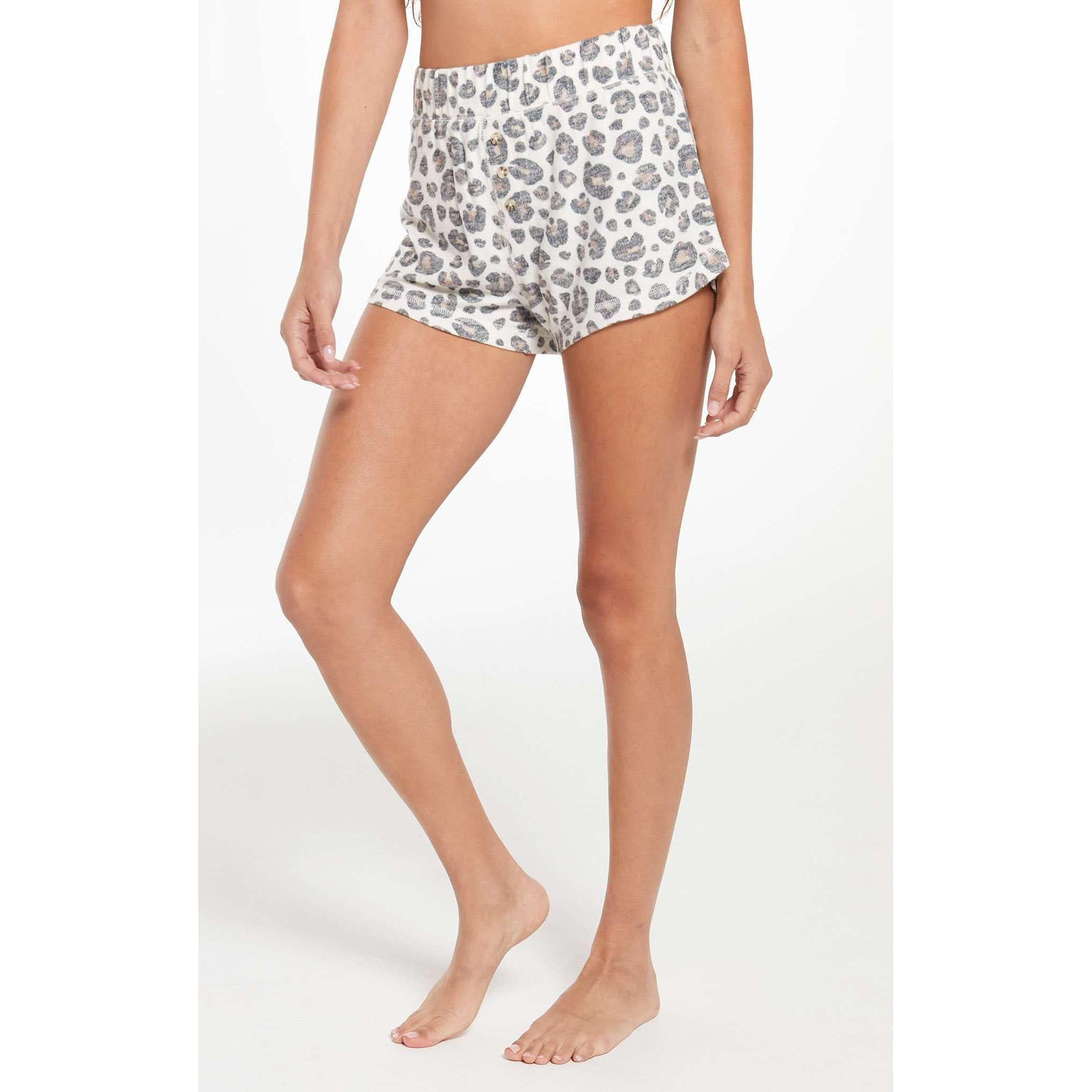 8.28 Boutique:Z-Supply,Z-Supply Briee Leopard Shorts,Bottoms