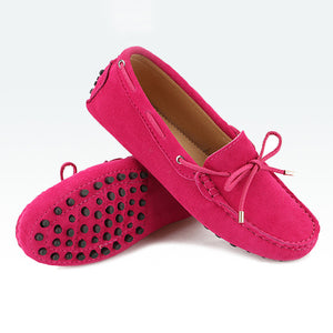 Women Flats Leather Loafers Moccasins Driving Shoes