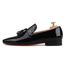 OneDrop Handmade Dress Shoes Patent Leather Party Wedding Prom Loafers