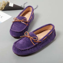 MIYAGINA Women Flat Leather Casual Loafers Moccasins Driving Shoes