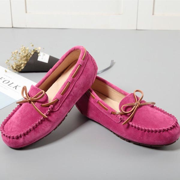 bae9865f6c6 MIYAGINA Women Flat Leather Casual Loafers Moccasins Driving Shoes