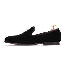 OneDrop Handmade Men Dress Shoes Velvet Wedding Party Prom Loafers