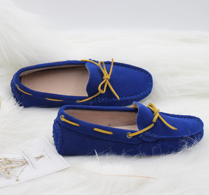 MIYAGINA Women Flats Leather Comfortable Moccasins Loafers