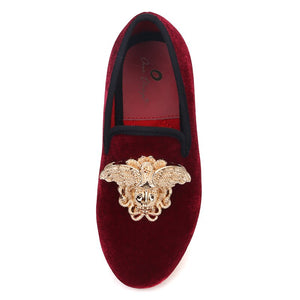 OneDrop Children Handmade Kid Versace Buckle Toddler Dress Shoes Red Bottom Birthday Wedding Party Prom Loafers