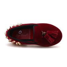 OneDrop Kid Handmade Children Tassel Studs Party Wedding And Prom Loafers