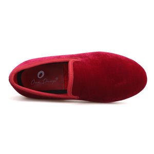 OneDrop Handmade Kid Velvet Party Wedding And Prom Children Loafers