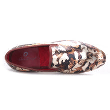 OneDrop Handmade Men Dress Shoes Camouflage Printing Party Wedding Prom Loafers