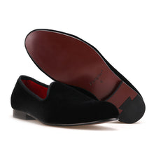 OneDrop Handmade Men Dress Shoes Velvet Wedding Party Prom Loafer