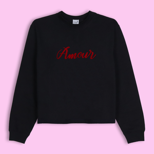 Crop Crewneck Amour