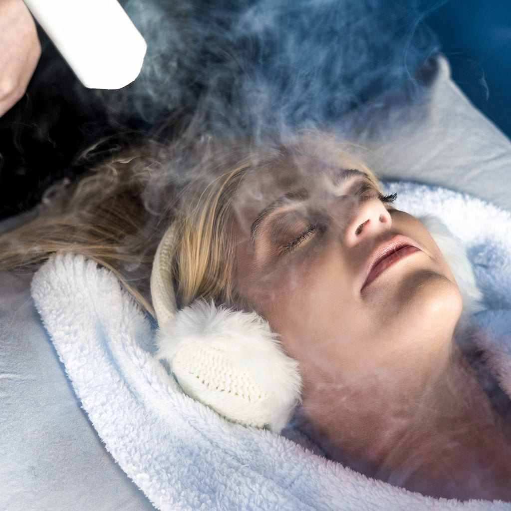 Localized Facial Cryotherapy