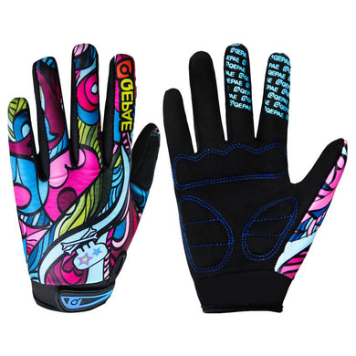 Bold & Funky Full Finger Touchscreen Sports Gloves - fiveO8