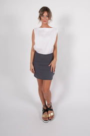 DAISY MINI SKIRT - Grey