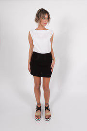 DAISY MINI SKIRT - Black