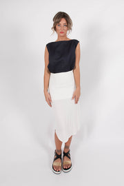 DAISY MIDI SKIRT - Snow