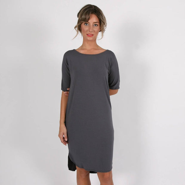 SASHA DRESS - Grey