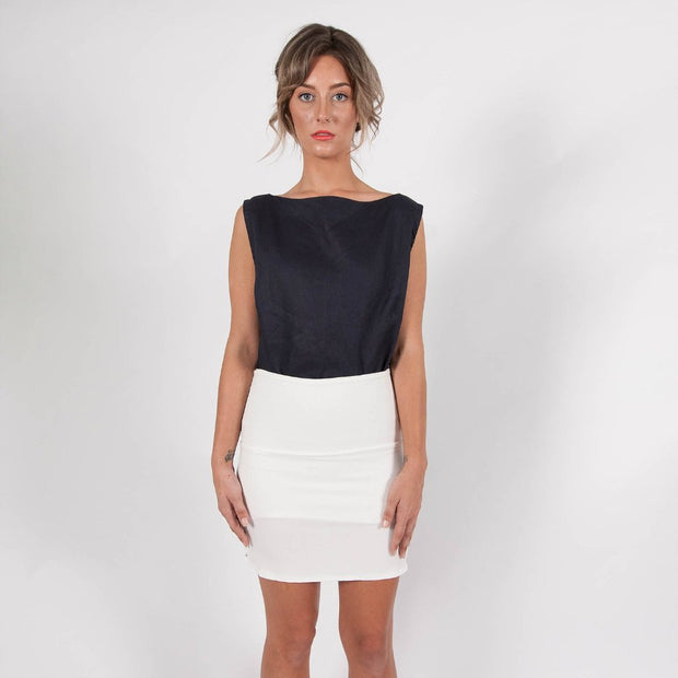 DAISY MINI SKIRT - Snow