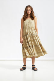 ISLA DAY DRESS - Pistachio
