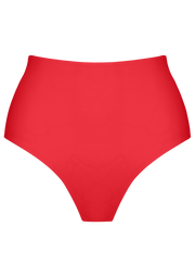 HESTER HIGH BOTTOMS - Scarlet + Retro Garden