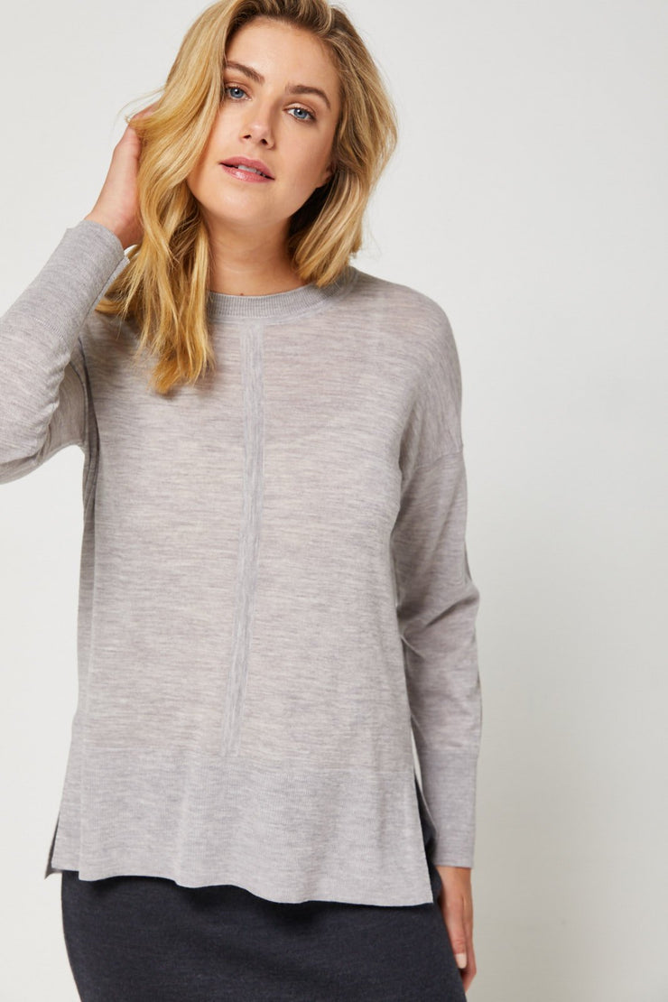 LUXE JUMPER ULTRAFINE - Grey