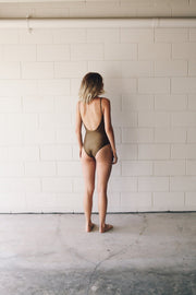 RHIAN ONE PIECE - Olive Bronze