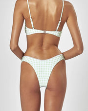 TARROW HIGH WAISTED BRIEF - Apple Gingham