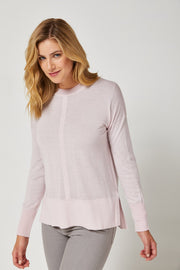 LUXE JUMPER ULTRAFINE - Pink Sand