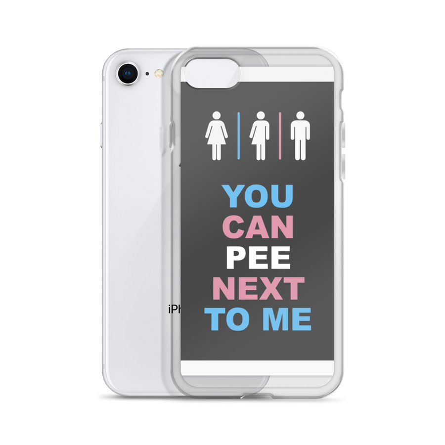 You Can Pee Next To Me iPhone Cases