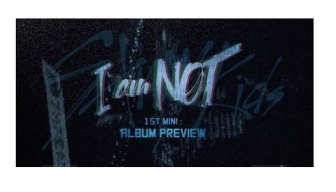 Stray Kids (스트레이 키즈) Mini Album Vol. 1 - I am NOT (édition coréenne)