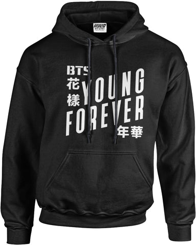 Sweat à Capuche BTS Young Forever