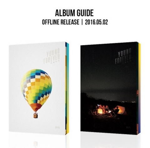 BTS (방탄소년단) BTS Special Album - YOUNG FOREVER (2CD) (DAY / NIGHT Version) (édition coréenne)