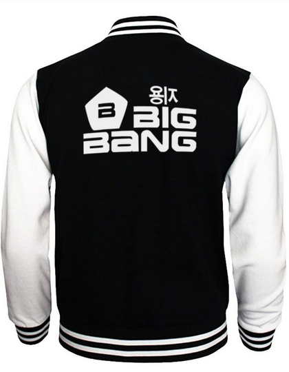 Blouson Teddy Style Université Coréen BIG BANG