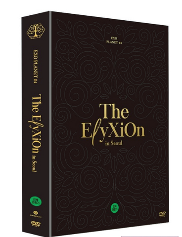EXO - EXO PLANET 4 - The ElyXiOn - in SEOUL (2DVD) (édition limitée coréenne)