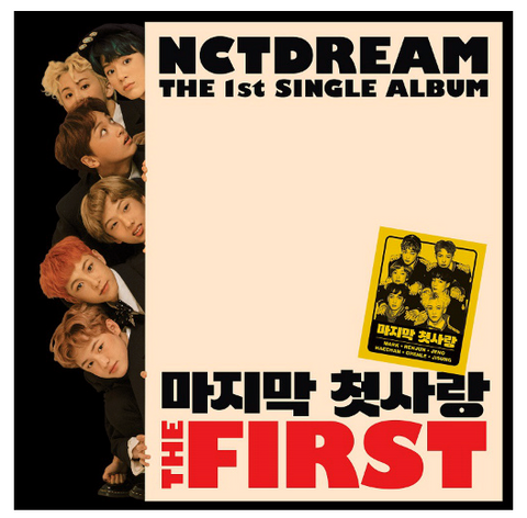 NCT DREAM (엔시티 드림) Single Album Vol. 1 - The First (édition coréenne)