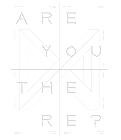 Monsta X (몬스타엑스) Vol. 2 TAKE.1 - ARE YOU THERE? (édition coréenne)