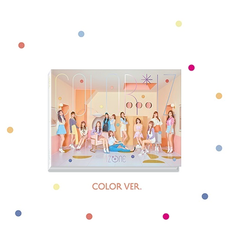 IZ*ONE (아이즈원) Mini Album Vol. 1 -COLOR*IZ (édition corénne)