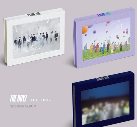 THE BOYZ (더보이즈) Mini Album Vol. 3 - The Only (édition coréenne) VERSION ALEATOIRE