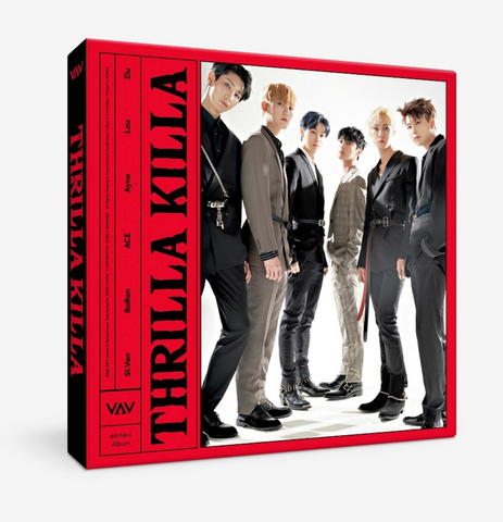 VAV (브이에이브이) Mini Album Vol. 4 - Thrilla Killa (édition coréenne)