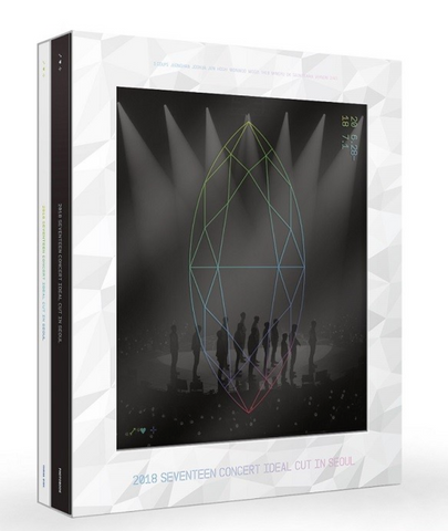 SEVENTEEN (세븐틴) 2018 SEVENTEEN CONCERT 'IDEAL CUT' IN SEOUL (3DVD) (édition coréenne)