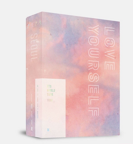 BTS (방탄소년단) BTS WORLD TOUR 'LOVE YOURSELF' SEOUL (3DVD) (édition coréenne)