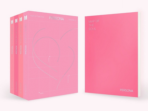 BTS (방탄소년단) MAP OF THE SOUL: PERSONA (édition coréenne)
