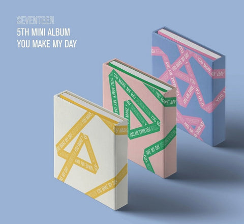 SEVENTEEN (세븐틴) Mini Album Vol. 5 - YOU MAKE MY DAY (édition coréenne)