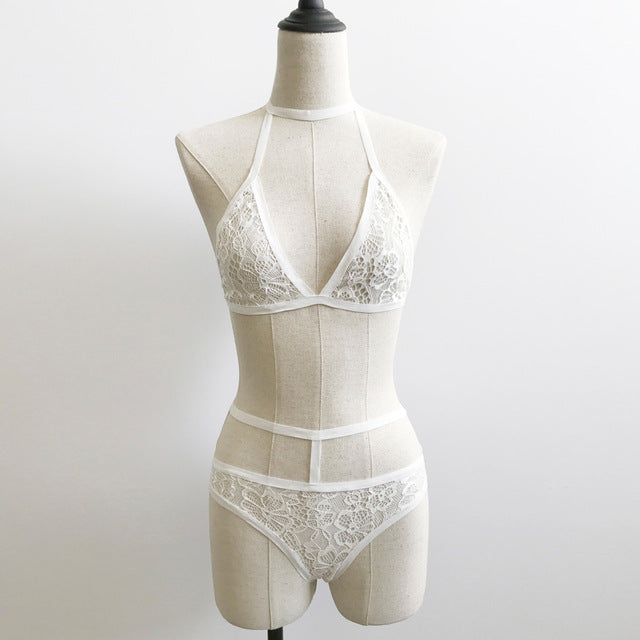 Ensemble Intimates de dames translucides
