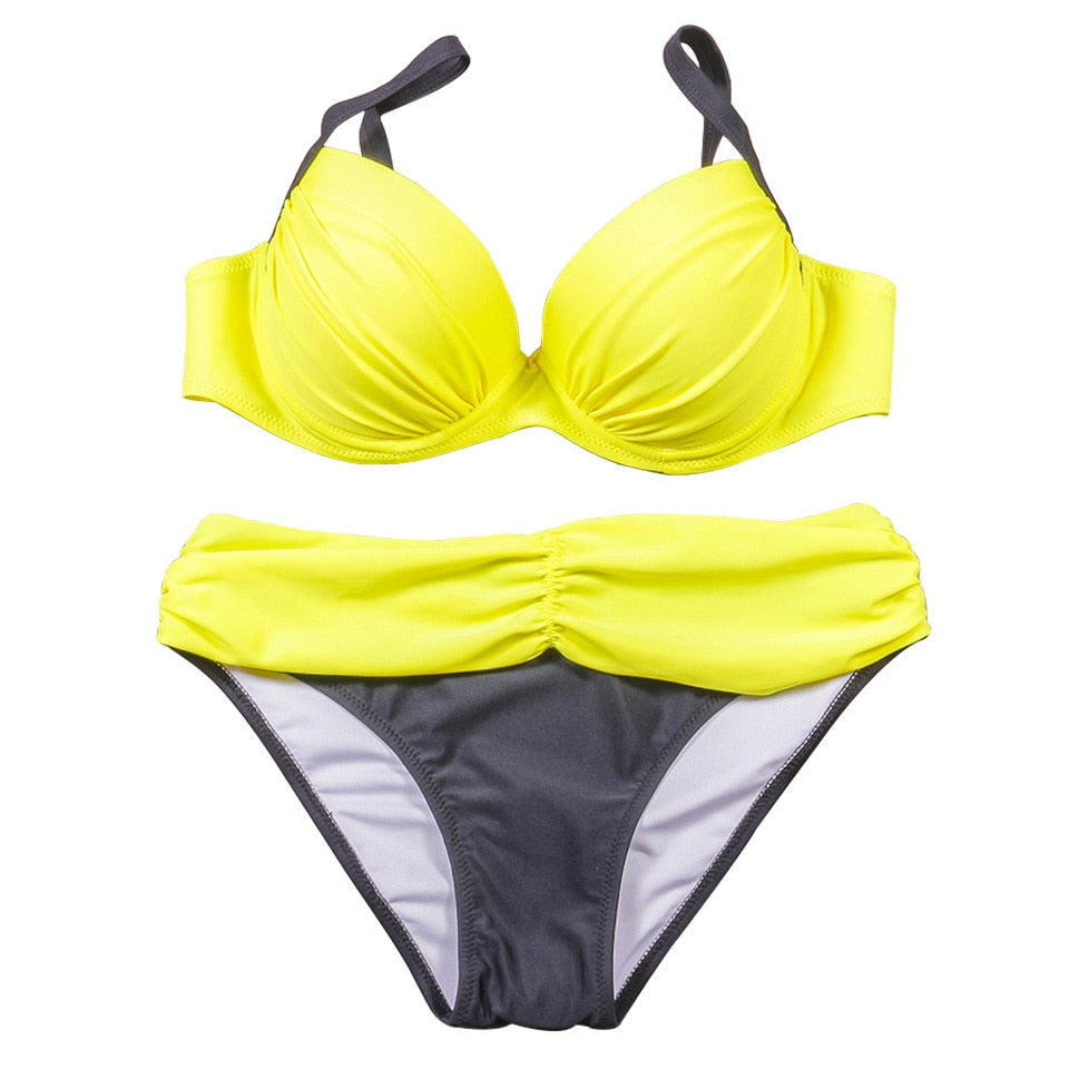 maillot de bain brésilen push up